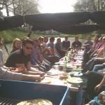Barbecue boot in Utrecht