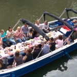 Barbecue boot in Utrecht