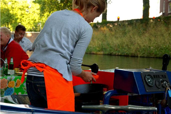 Genieten op de Tapasboot in Utrecht