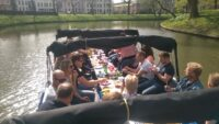 de BBQ boot in Utrecht