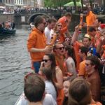 Koningsdag varen in Utrecht